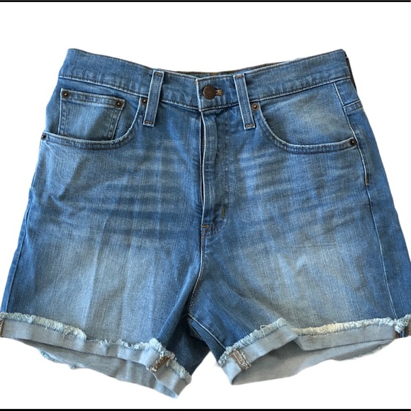 J.Crew 🍧 high waisted denim shorts - NWT